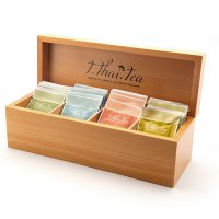 Small Wooden Box Tea Set
